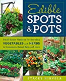 Edible Spots and Pots Small Space Gardens for Growing Vegetables and Herbs in Containers Raised Beds and More