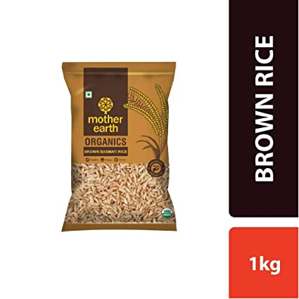 MOTHER EARTH Brown Rice 1KG