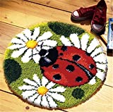 BYT Collections 18 Model Animal Latch Hook Kit Rug Animal 025 20 by 20 Inch