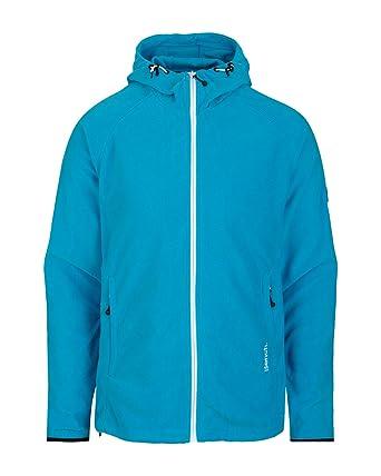 Bench Herren Sweatshirt Fleecejacke WELLWOOD blau (blue danube) Large 22beba6ff0
