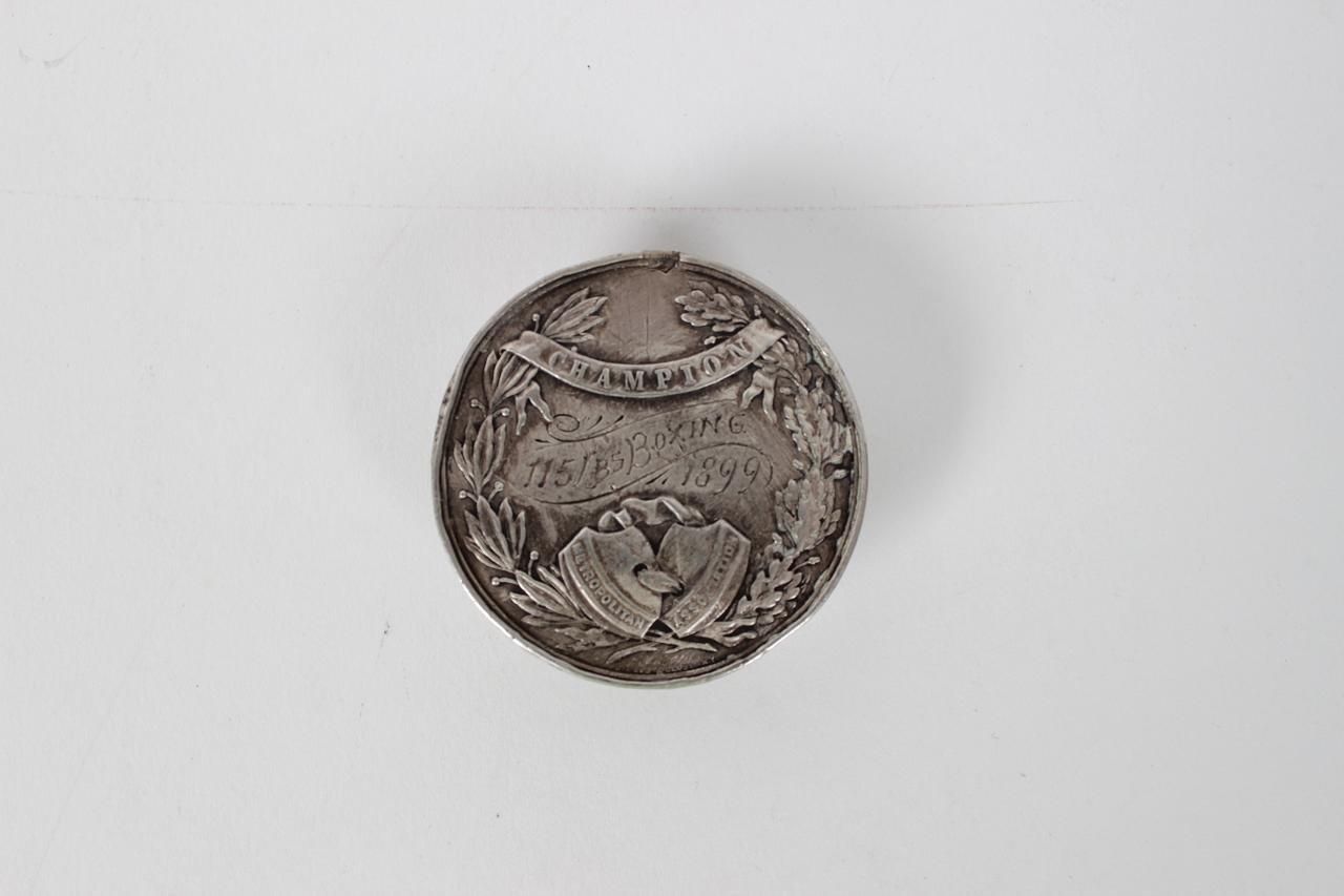 1899 J.B. Knipe 1st Place Boxing Medal