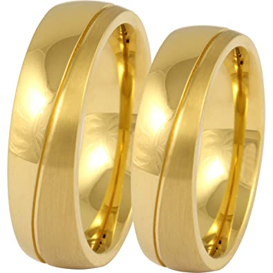 Amazon Com Jewelery Codex His And Hers Wedding Ring Sets With Free