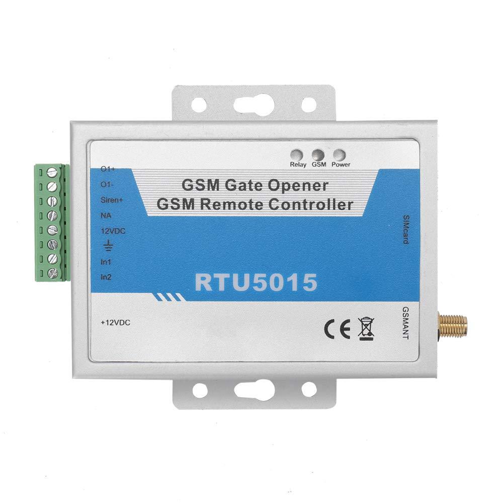 Leepesx RTU5015 Operador de operador de puerta de puerta GSM RTU5024 actualizado con alarma de control remoto por SMS 1 salida y aplicaci/ón de 2 entradas