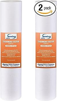 "3pcs iSpring Sediment Water Filter Cartridge 10/""x2.5/"" 20 Microns"