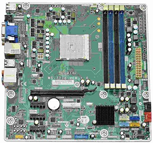 P7 Jasmine-R AMD Desktop Motherboard FM2, MS-7778 Ver 1.0, (Hp Laptop Motherboards)