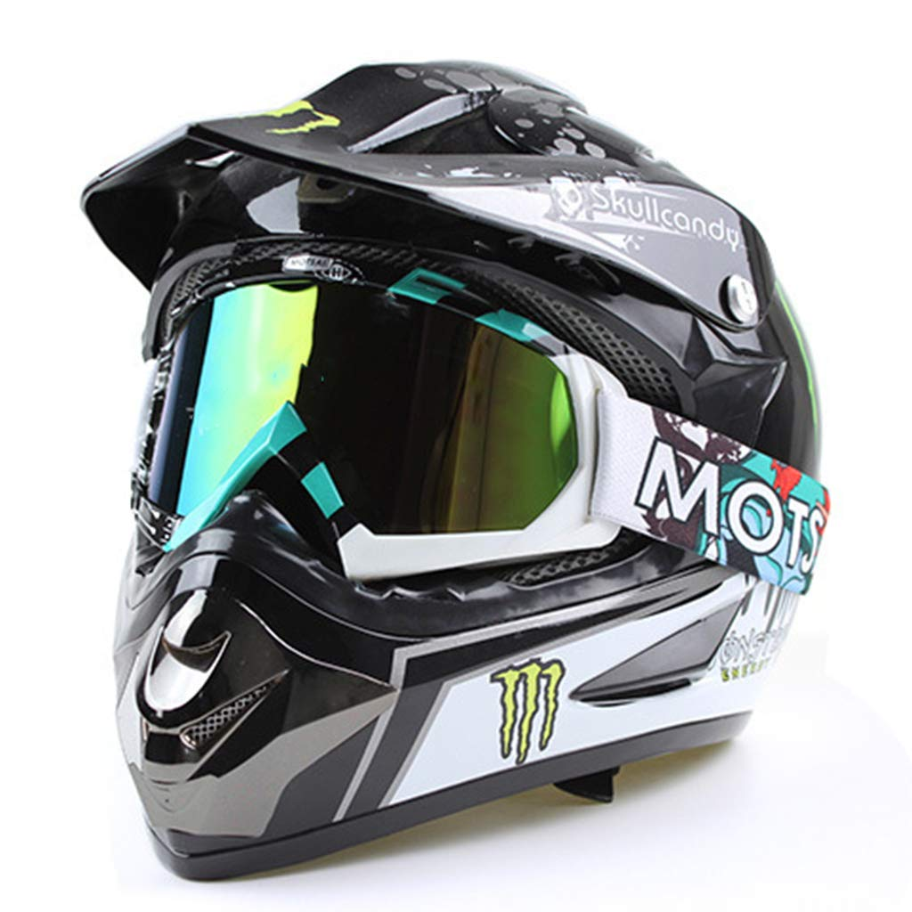 B Blesiya Snowmobile Snowboard Goggles Motocross Eyewear Anti-UV Glasses Colorful