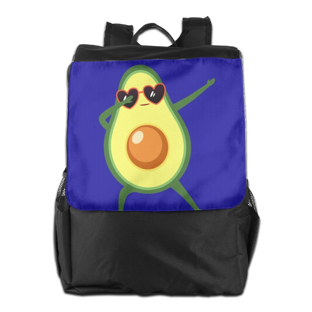 free shipping Believe Ddspp Dabbing Cute Avocado Outdoor Backpack Rucksack Student Bag