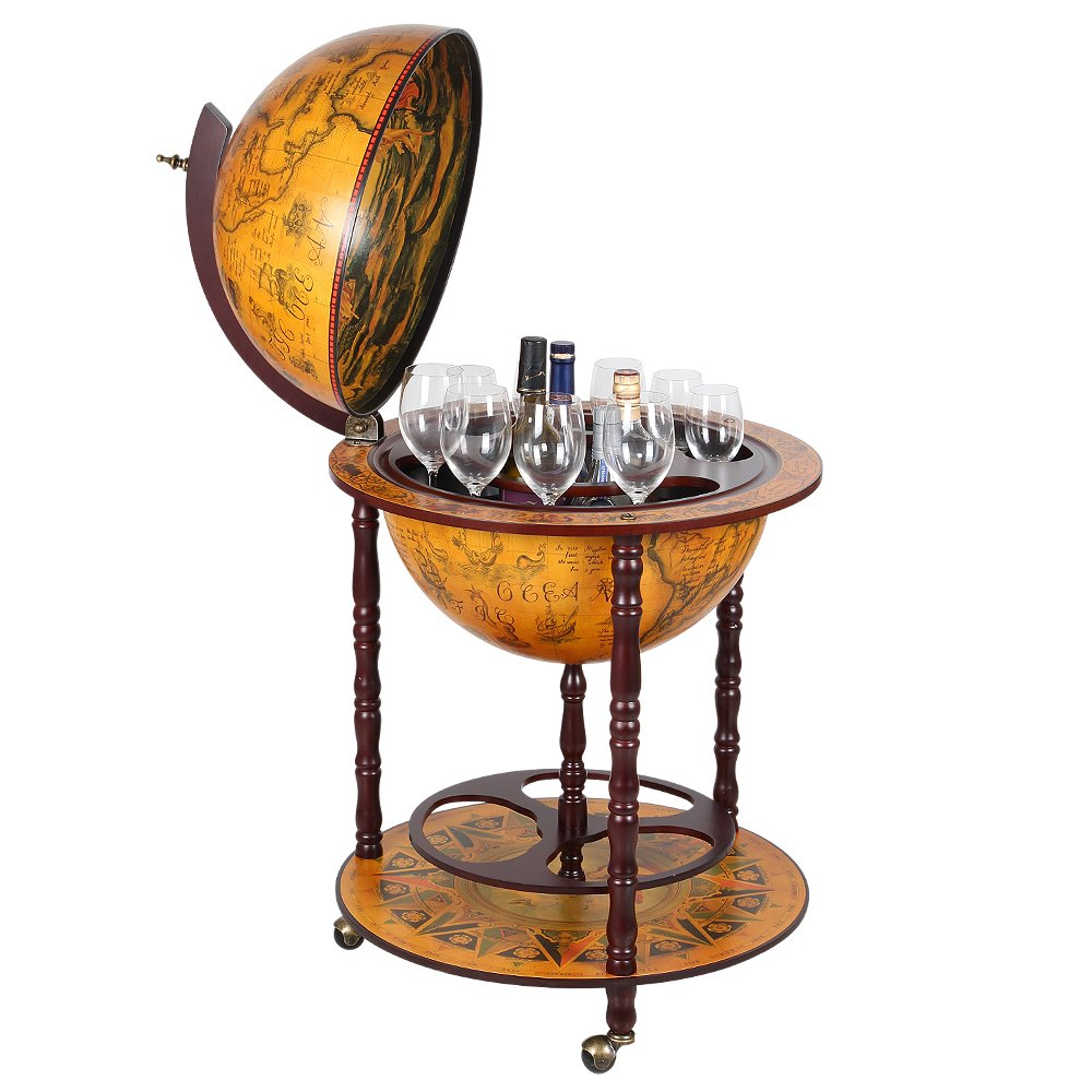 NEX HT-KF304G-MS Globe Wine Bar, Wood by NEX