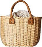 Hat Attack Women's Wicker Small Basket Natural One Size