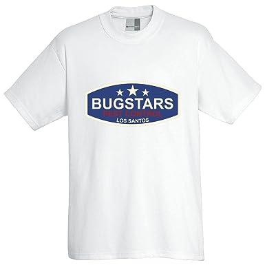 bfb61b44 Bugstars Pest Control - Oversized T-Shirt Pro, white, size 4XL: 3dsupply:  Amazon.co.uk: Clothing