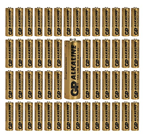 (1152-Pack) GP Size AA Batteries Alkaline 1.5V LR6 BULK Wholesale Lot 2019 by GP