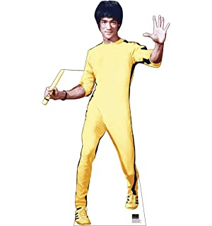 Amazon.com: Bruce Lee Costume with Wig: Clothing