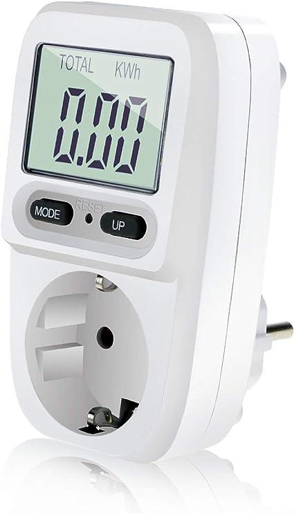 Zaeel Medidor de consumo de corriente del medidor de energía ...