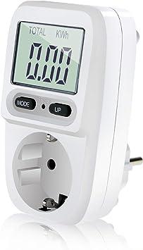 Zaeel Medidor de consumo de corriente del medidor de energí