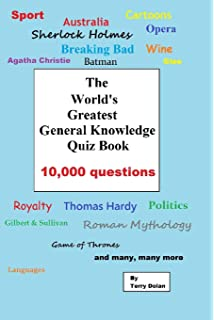 The Greatest General Knowledge Quiz Book: Amazon co uk