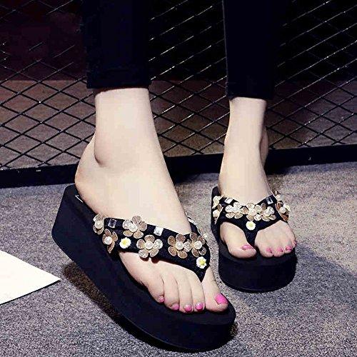 Dimensioni eleganti 5 CN40 Colore pantofole EU39 5 2 LISABOBO UK6 cm spiaggia EU36 colori estate 5 UK4 confortevoli e anti CN35 spessa pantofole 1002 skid TqxgS7w