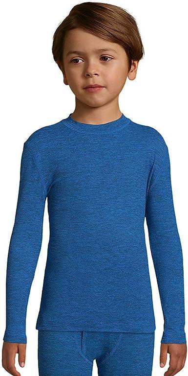 FreshIQ Hanes Boys Space Dye Thermal Pant with X-Temp Technology