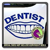 Dentist Dental Dentist Dentistry Surgeon PhD Occupation Job Vinyl Decal Sticker...