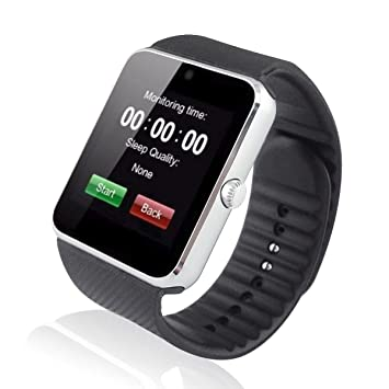 DROMATEC® SW08 Reloj Smartwatch Connected gsm 2G Bluetooth ...