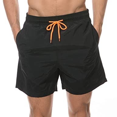 2138fd8622 anqier Mens Swim Shorts, Boys Swimming Trunks Quick Dry Board Beach Leisure  Shorts with Mesh Lining, Pockets, Adjustable Drawstring: Amazon.co.uk:  Clothing