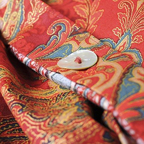 Boho Paisley Print Luxury Duvet Quilt Cover And Shams 3pc