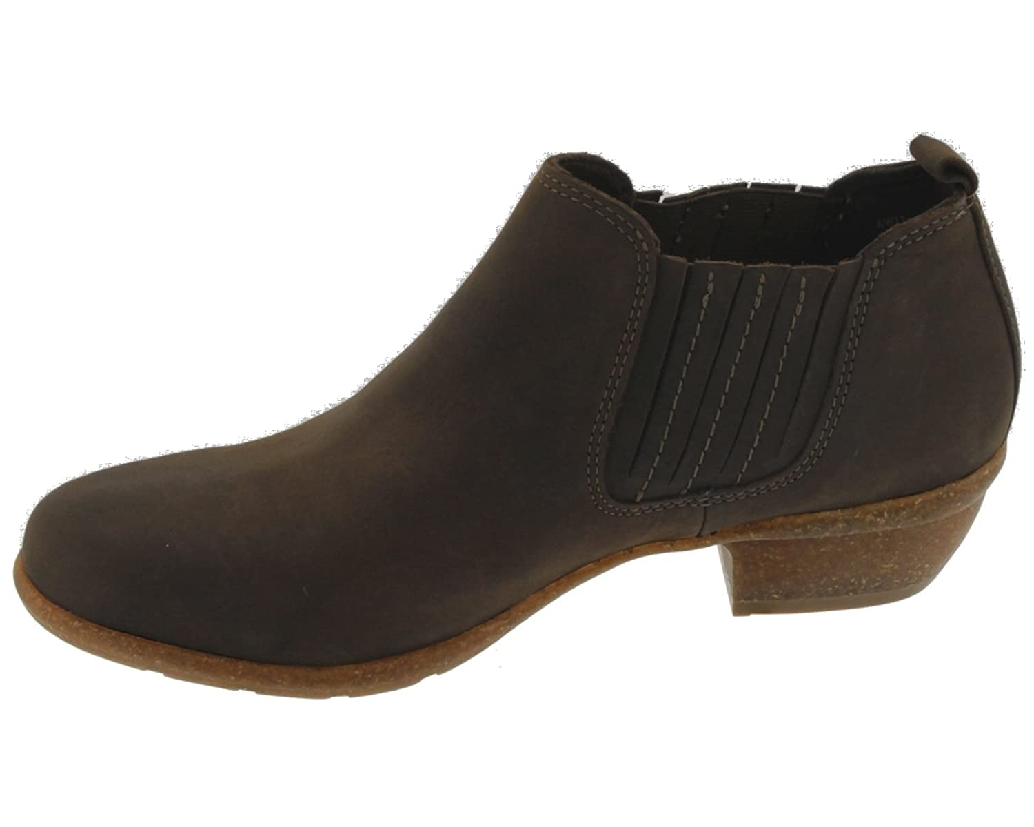 Amazon.com | CLARKS Wilrose Jade - Brown Nubuck (Leather) Womens Boots 7 US  | Shoes