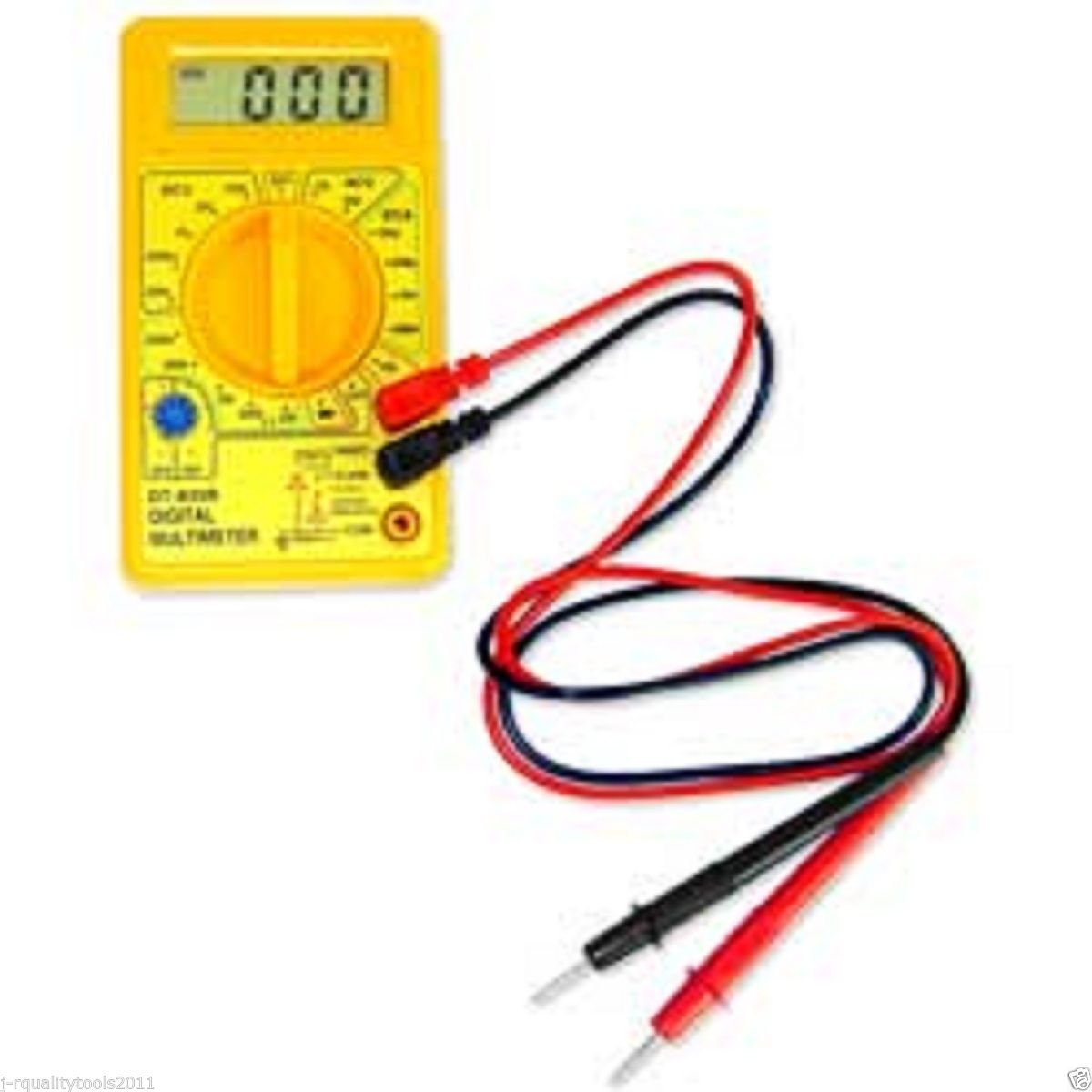 Pocket Digital Multi Meter Battery Tester Resistance Electrical Ohm DC AC Volts