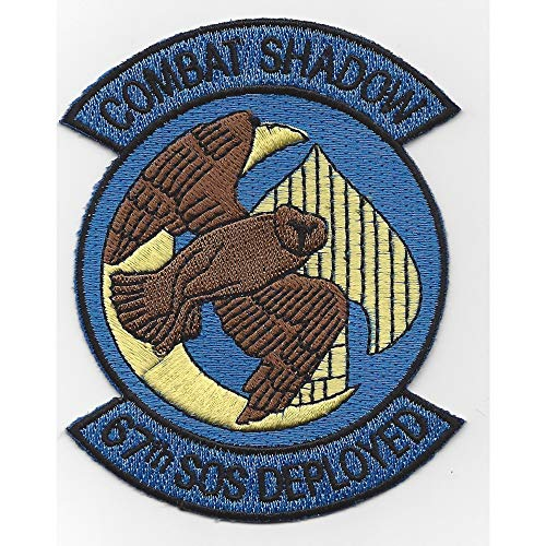 (67th SOS Special Operations Squadron Patch Combat Shadow )