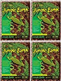 Exo Terra Jungle Earth Tropical Terrarium Substrate 16qt (4 x 4qt)