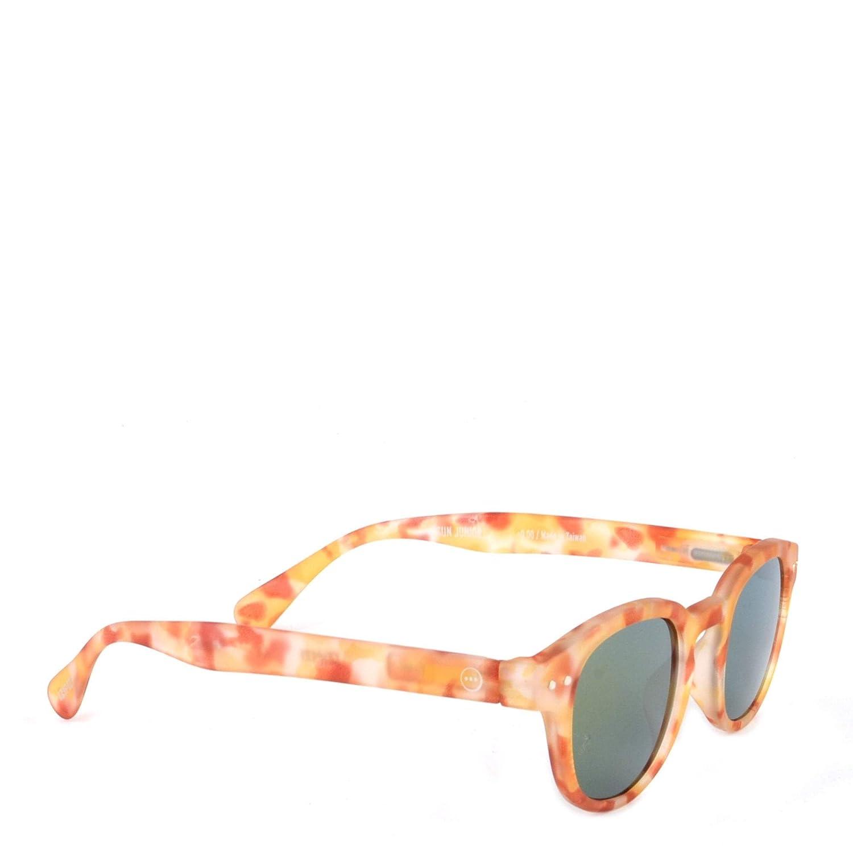 IZIPIZI Sun Junior #C Yellow Tortoise Sunglasses