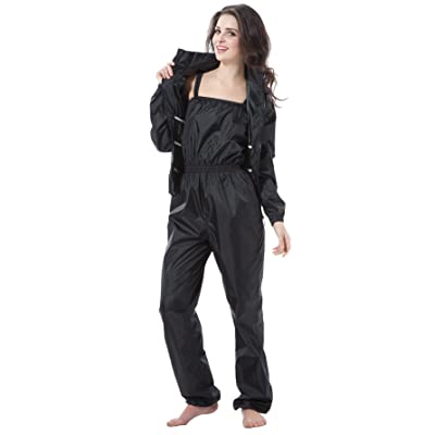 BIKMAN Weight Loss Exercise Two-piece Sauna Suit Jog Gym Slimming Sweat Suit