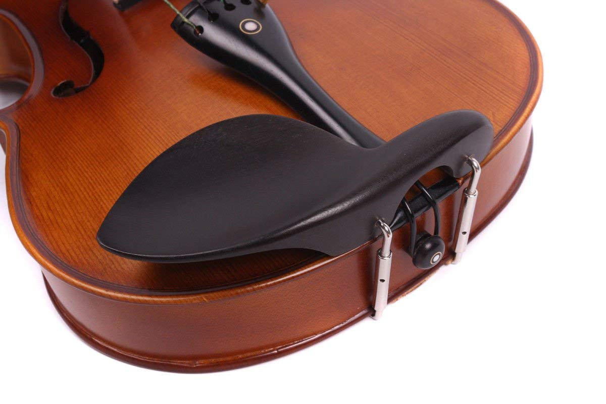 Yinfente 4/4 violin 5 string Electric violin Full size Maple Spruce wood Big jack Ebony wood Violin parts Sweet Sound by yinfente (Image #3)