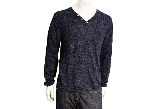 Drykorn Herren Sweatshirt, Größe XXL blau grau Herrenmode Mate  Ü129 ... a6be40d4c4