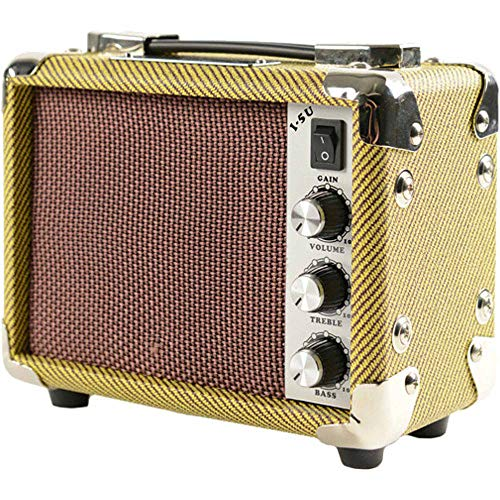 - Kala AMP-TWD-5U Tweed Ukulele/UBass Combo Amplifier