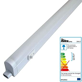 LED Lichtleiste Küche Schrank Leuchte 4 Watt warmweiß 830 Unterbau ...