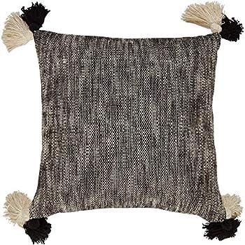 Amazon Com Woven Nook Decorative Throw Pillow Euro Size