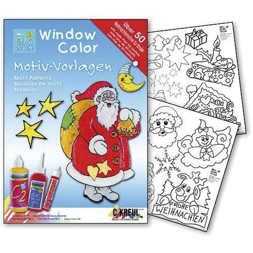 C.KREUL 640152 - Window Color Motiv-Vorlagen Kinderweihnacht, Spiel