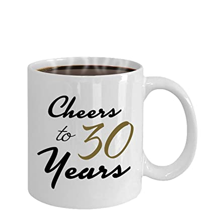 Image Unavailable Not Available For Color Cheers To 30 Years 30th Birthday Gift Her