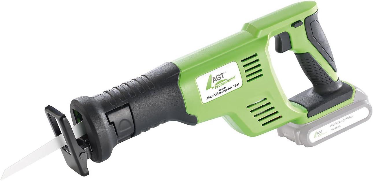 Agt Professional Akkusäge Akku Säbelsäge Aw 18 Sl Gs Zertifiziert 18 V Ohne Akku Elektro Säge Baumarkt