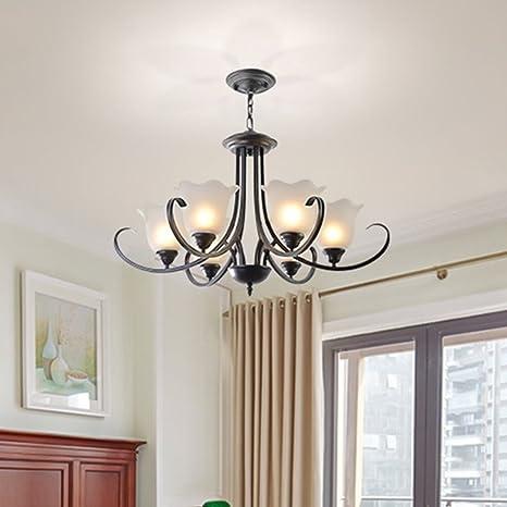 Amazon.com: nclon estilo americano moderno colgante lámpara ...
