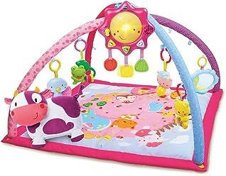 VTech Baby - Manta Convertible en Gimnasio, Color Rosa, versión española (3480-