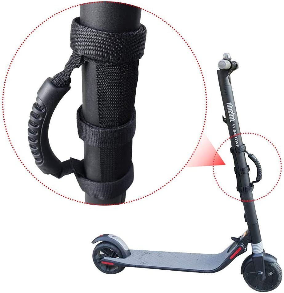 Demeras Scooter Handle Strap Portable Scooter Handle Belt Carrying Handle Bandage Strap for Brompton Folding Bicycle and Scooters