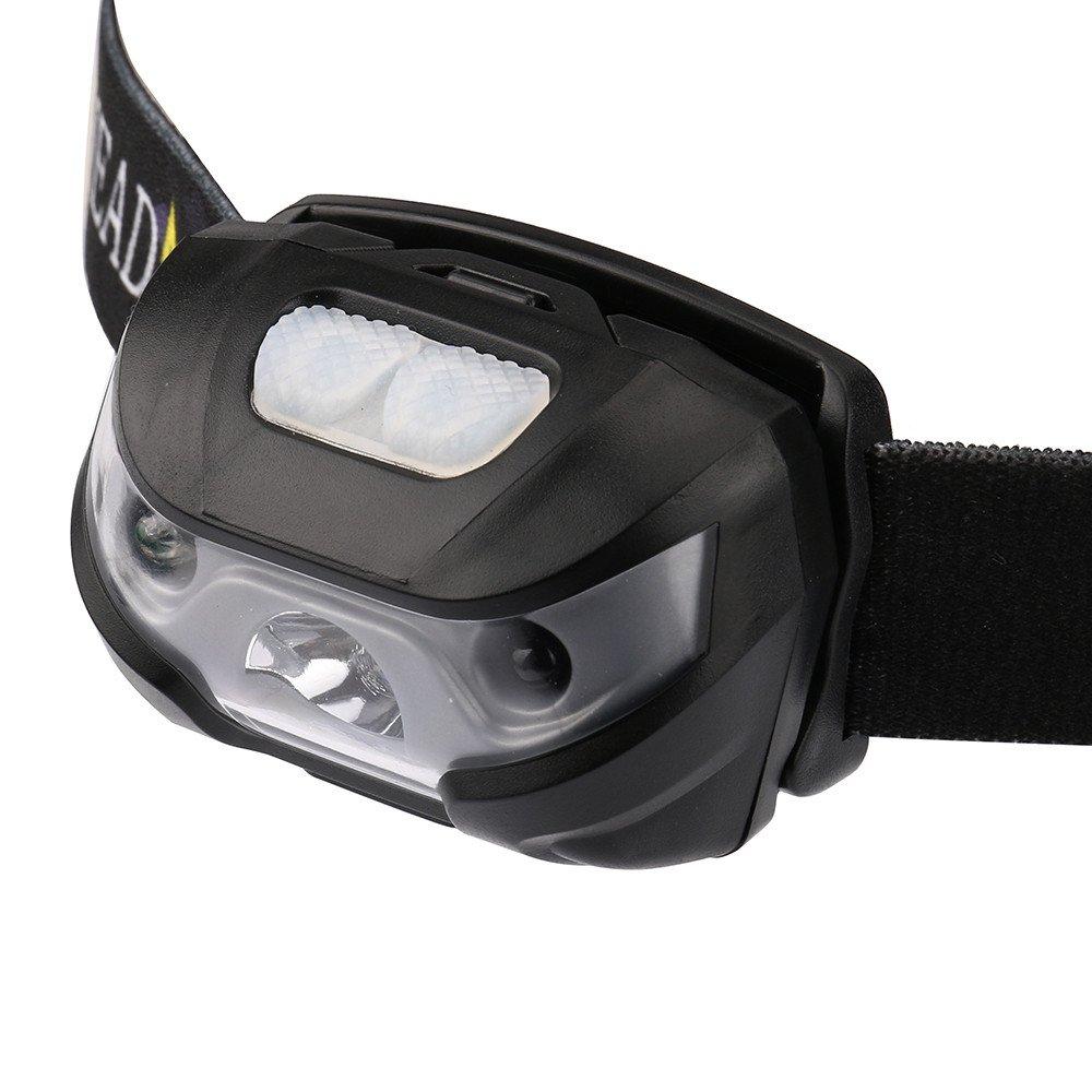 Fischerei 99native 3000 LM Mini wiederaufladbare LED Stirnlampe Camping Taschenlampe mit USB,Stirnlampe superheller Kopfleuchte Ideal f/ür Camping Keller,Laufen Campen