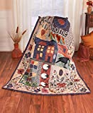 The Lakeside Collection 50''x60'' Quilted Fall Throw - Home & Heart