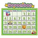 TEACHER CREATED RESOURCES POLKA DOT SCHOOL CALENDAR BB (Set of 6)
