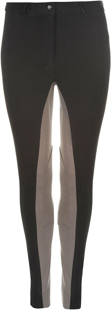 2 Toned Full Seat Microfiber Breeches for Ladies