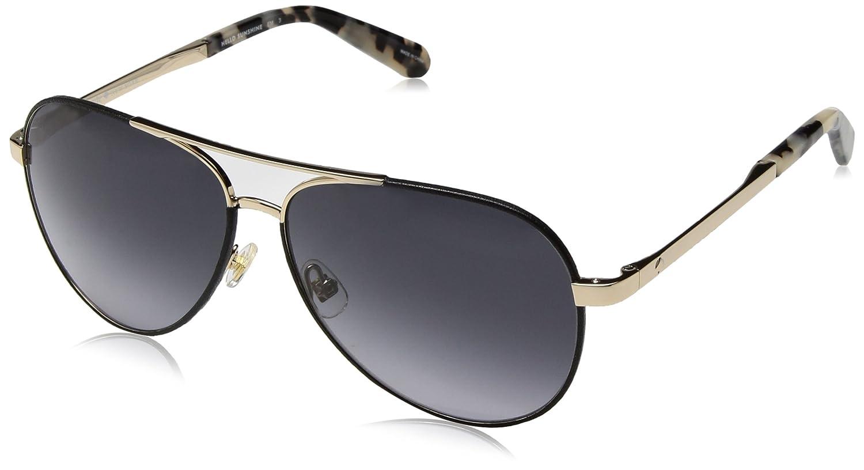 4099f9ec45f Amazon.com  Kate Spade New York Womens Amarissa S Black Gold Dark Grey  Gradient One Size  Clothing