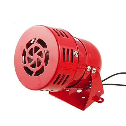 114 db Mini sirena con motor industrial sirena alarma alerta ...
