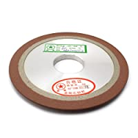 "1Pcs 5""Tapered Plain Resin Diamond Grinding Wheel to Grind Carbide Hard Steel 150 Grit 125x10x32x8mm"