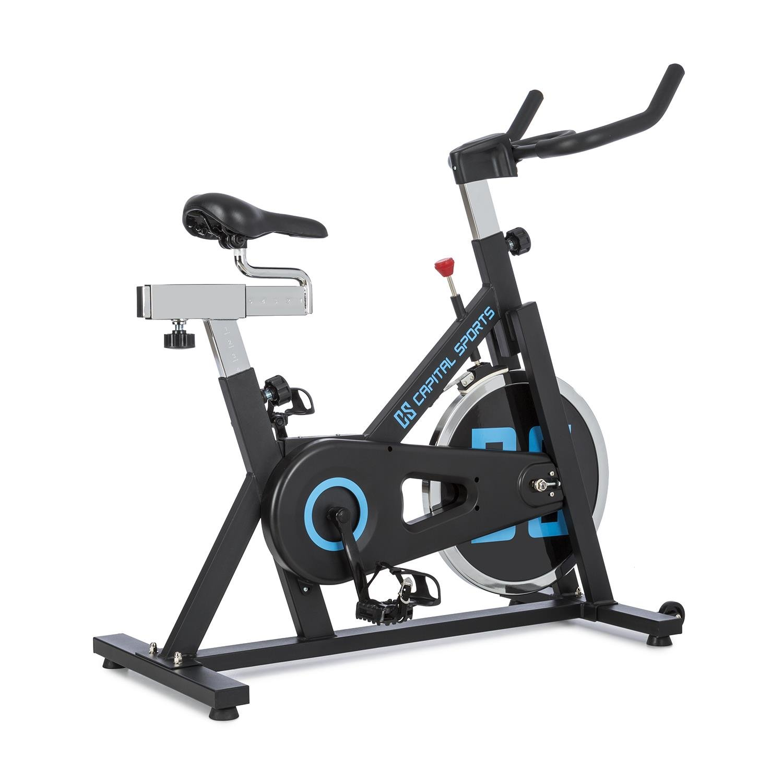 CapitalSports Radical ARC X18 • Bicicleta Indoor • Bicicleta estática • Rueda de inercia con 18kg • Accionamiento por Correa • Capacidad de Carga 120kg ...